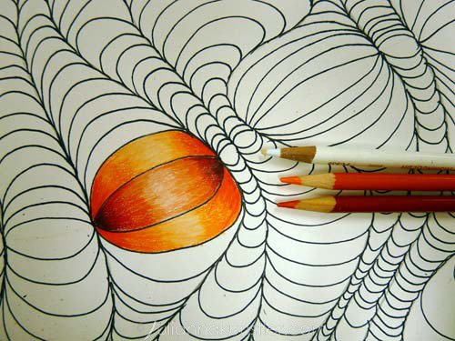 optical design coloring step