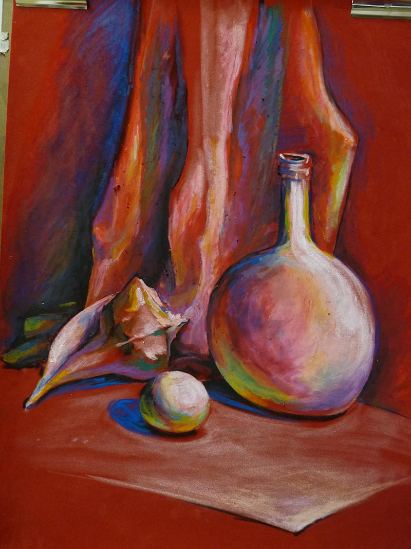 Oil Pastels Color Mixing And Blending Art Lesson