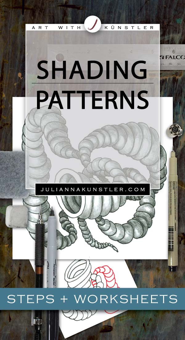 shading patterns 3D